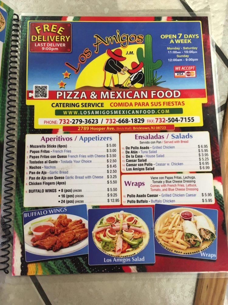 Mexican Restaurants Near Brick Nj