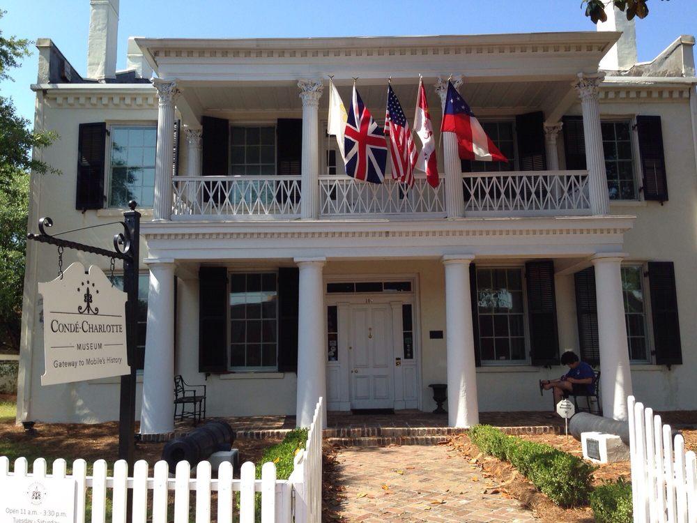 Conde Charlotte Museum House: 104 Theatre St, Mobile, AL
