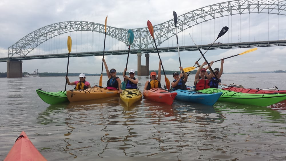 Allen's Kayaking Adventures: 525 N Main St, Memphis, TN