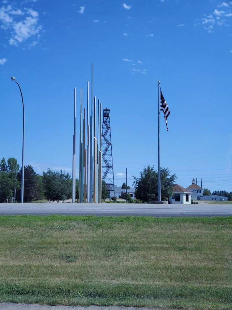 Northern Lights Tower: 209 US-2, Rugby, ND