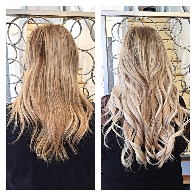She Then Switched To The New Tape In Method By Babe Hair