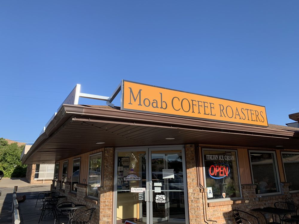 Moab Coffee Roasters: 90 N Main St, Moab, UT