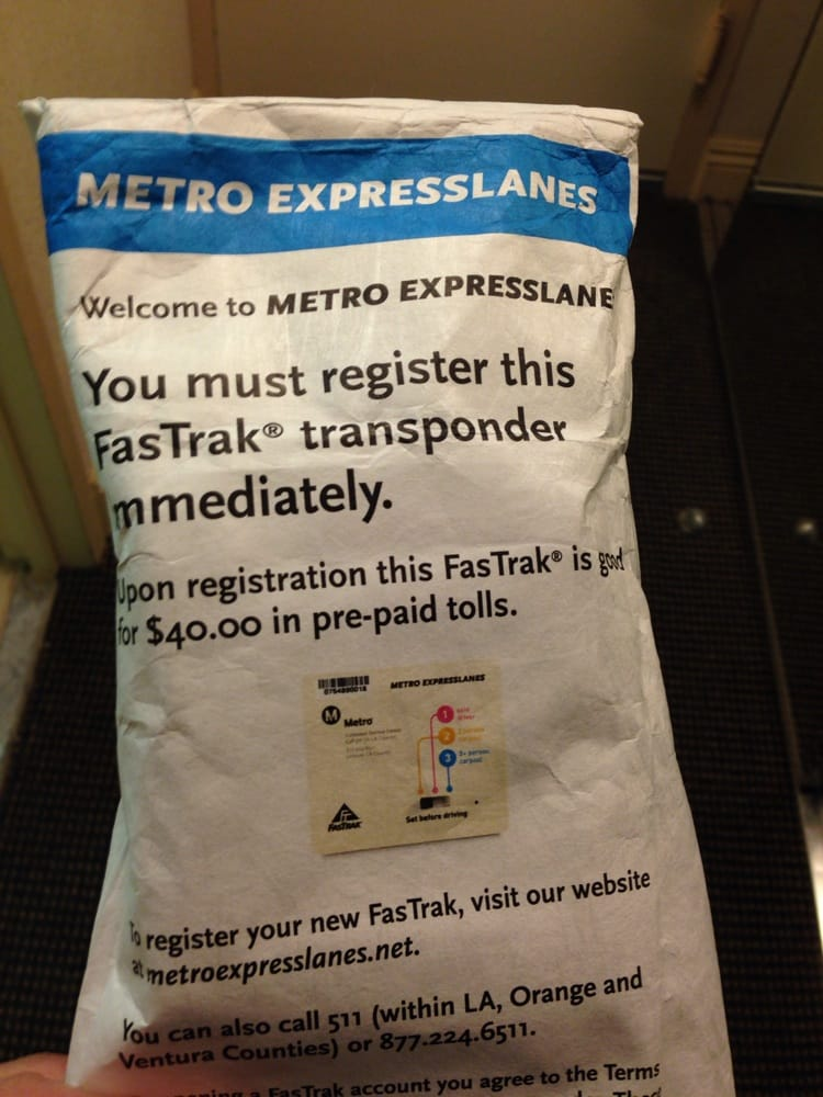 how to get a fastrak transponder
