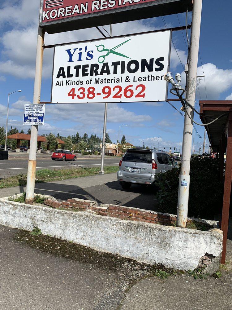 Yi's Alterations: 7515 Martin Way E, Olympia, WA