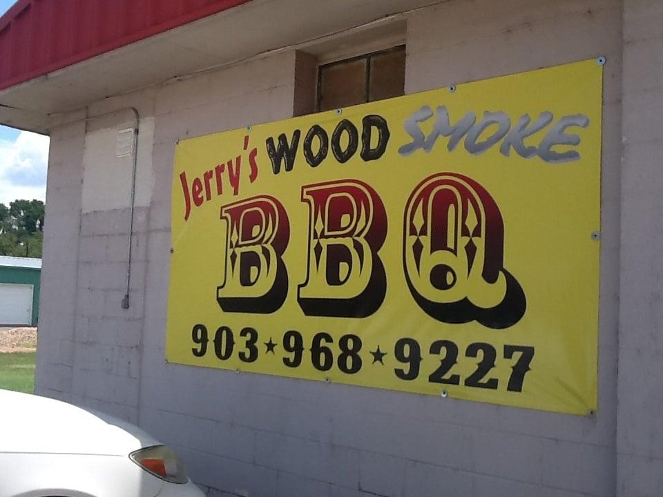 Jerry's Wood Smoke BBQ: 16420 Hwy 155 N, Ore City, TX