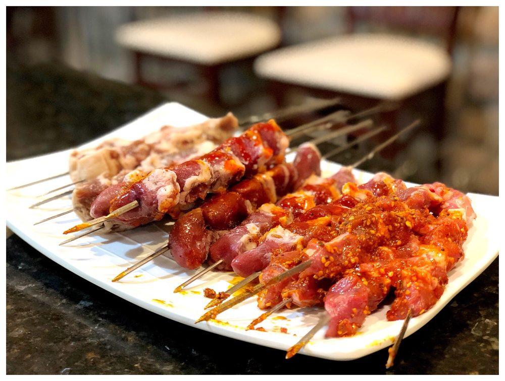 Feng Mao Lamb Kebab