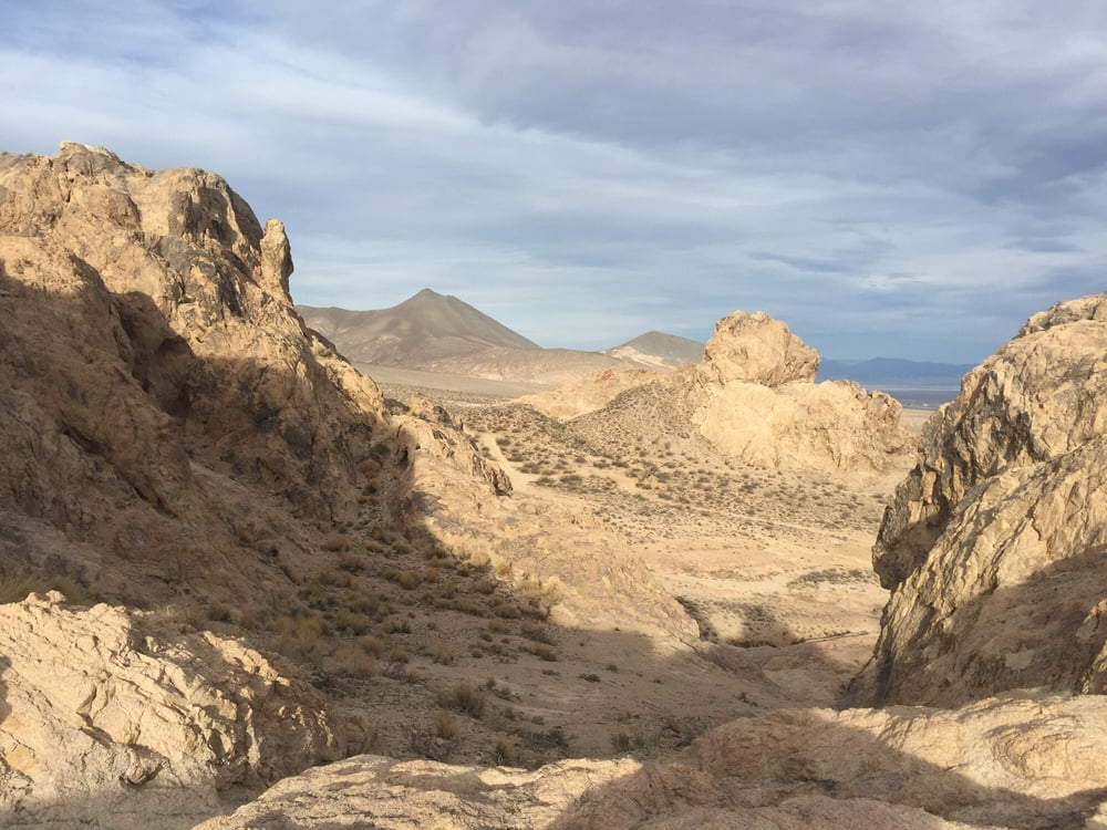 Robber's Roost: Inyokern, CA