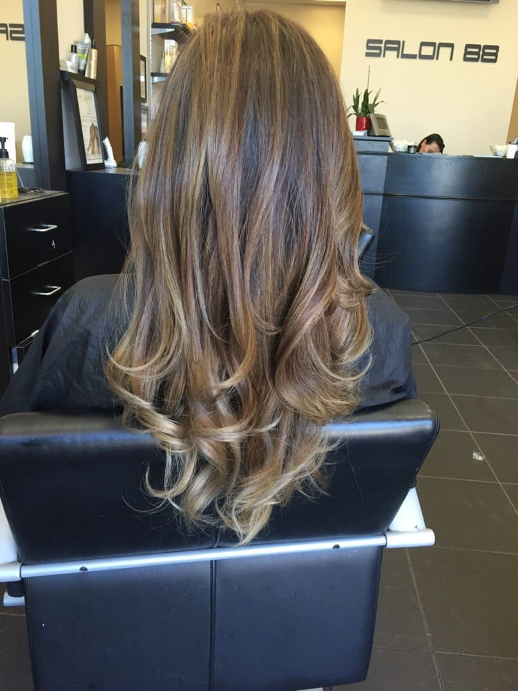 3rd Visit 2nd Balayage With Highlights And Super Ashygrey Tips