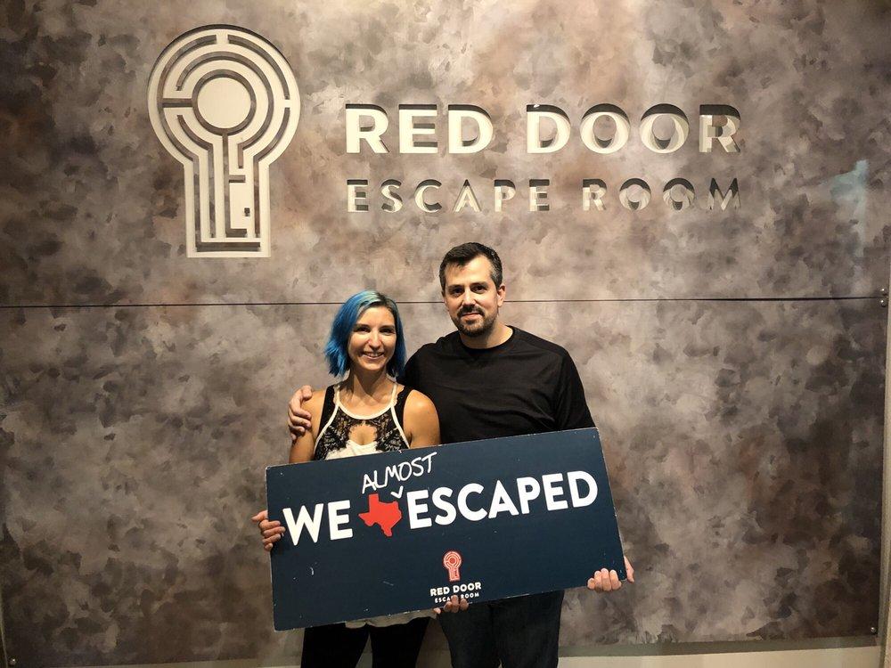 Red Door Escape Room: 8103 Rasor Blvd, Plano, TX