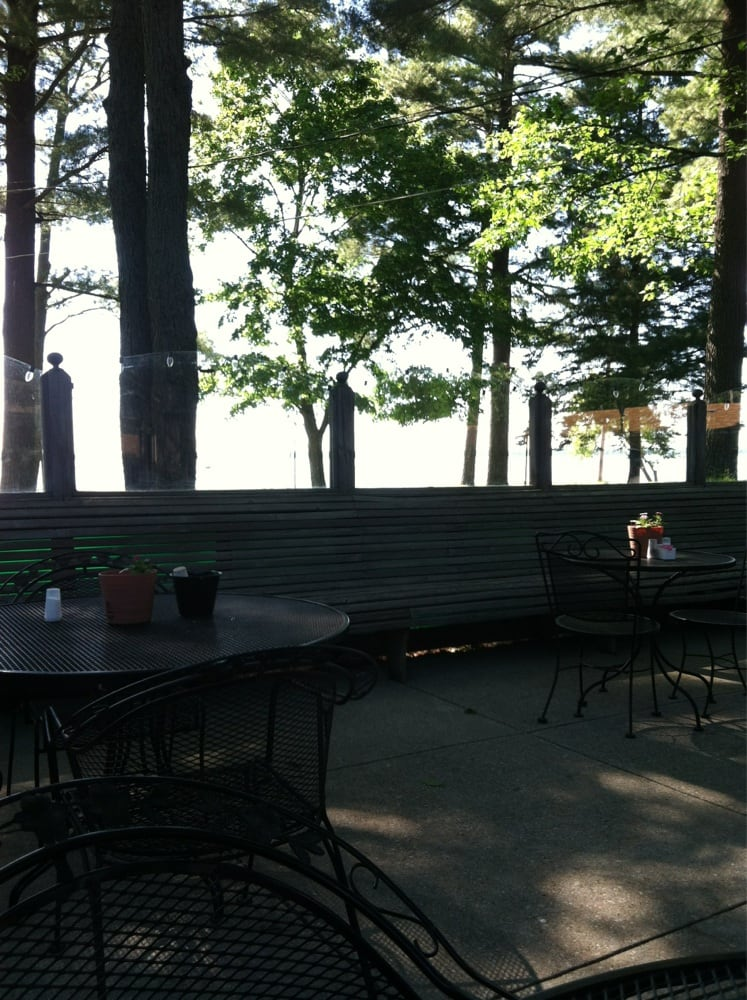 Lakeside Collection Patio Furniture: View Of The Lake From The Patio