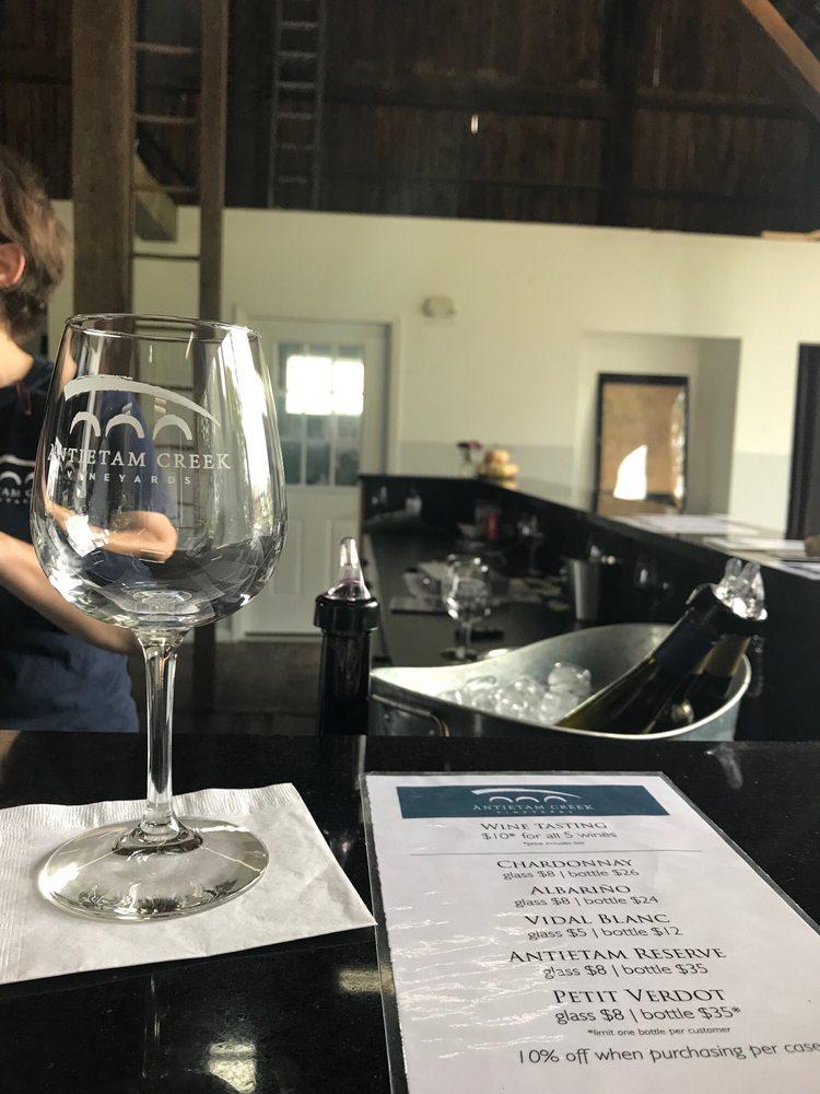 Antietam Creek Vineyards: 4835 Branch Ave, Sharpsburg, MD