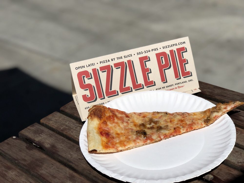 Sizzle Pie: 624 E Burnside, Portland, OR