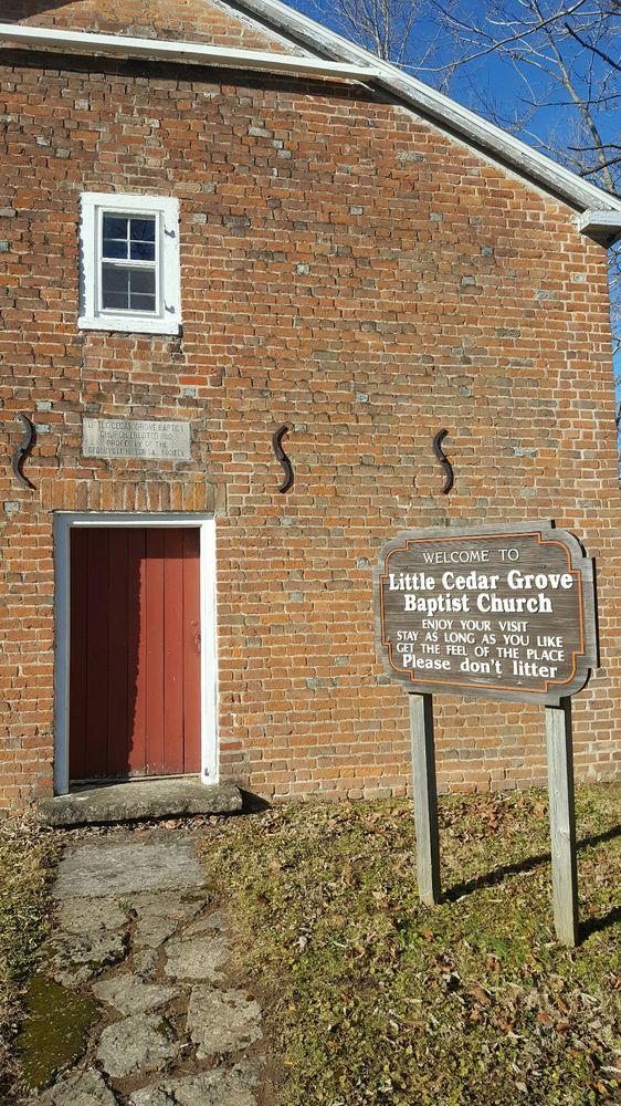 Little Cedar Grove Baptist Church: Highway 52, Brookville, IN