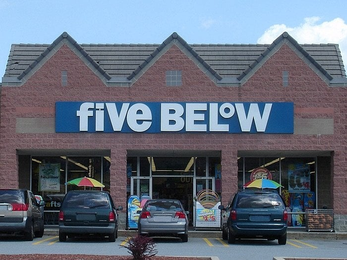 Five Below: 266 Daniel Webster Hwy, Nashua, NH