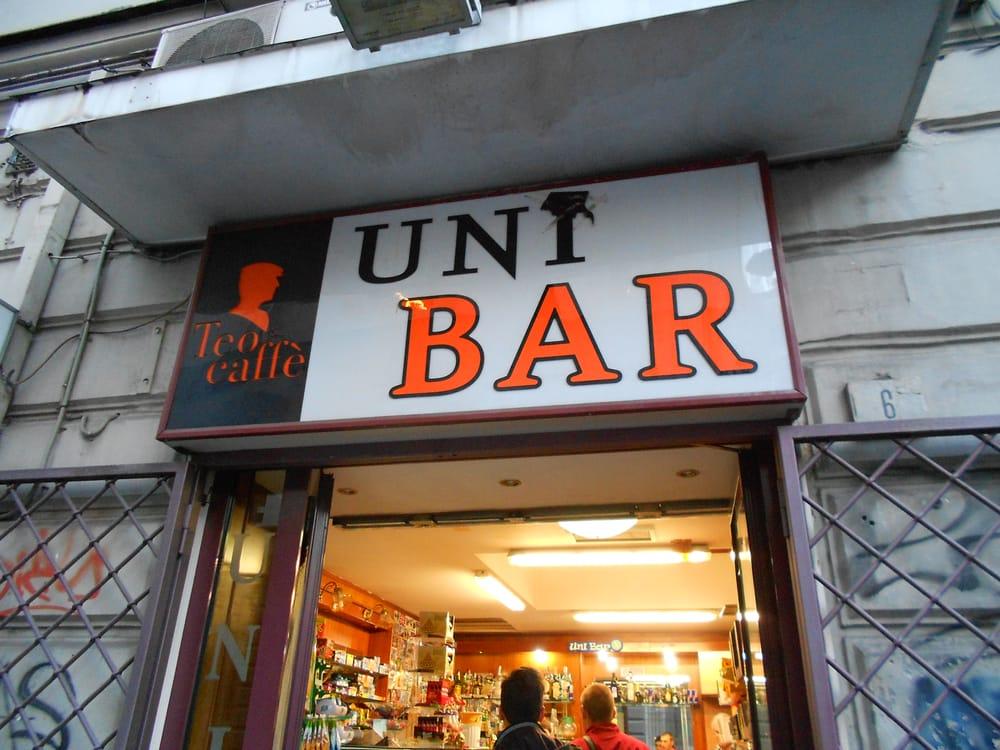 Uni bar caf er kaffebarer via porta di massa 6 - Porta di massa napoli ...