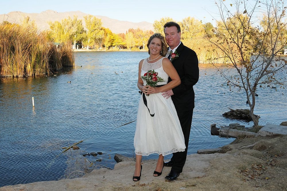 Tule springs at floyd lamb park yelp for Simple vegas weddings
