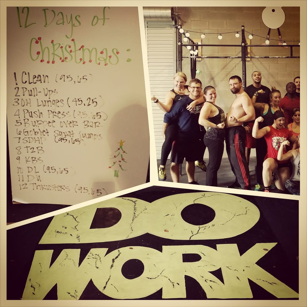 12 Days Of Christmas Crossfit Wod.12 Days Of Christmas Wod Longest Workout I Ve Ever Done For