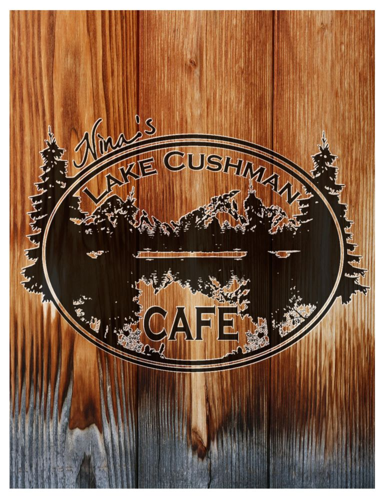 Nina's Lake Cushman Cafe: 2440 N Lake Cushman Rd, Hoodsport, WA