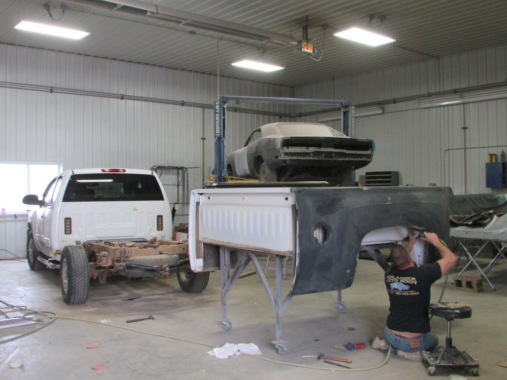 Kolander Auto Body: 13232 Palm Ave, Fulda, MN