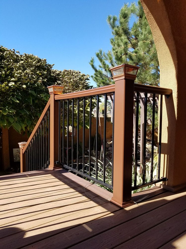 Trex Composite Deck Composite Post Sleeves And Rails With