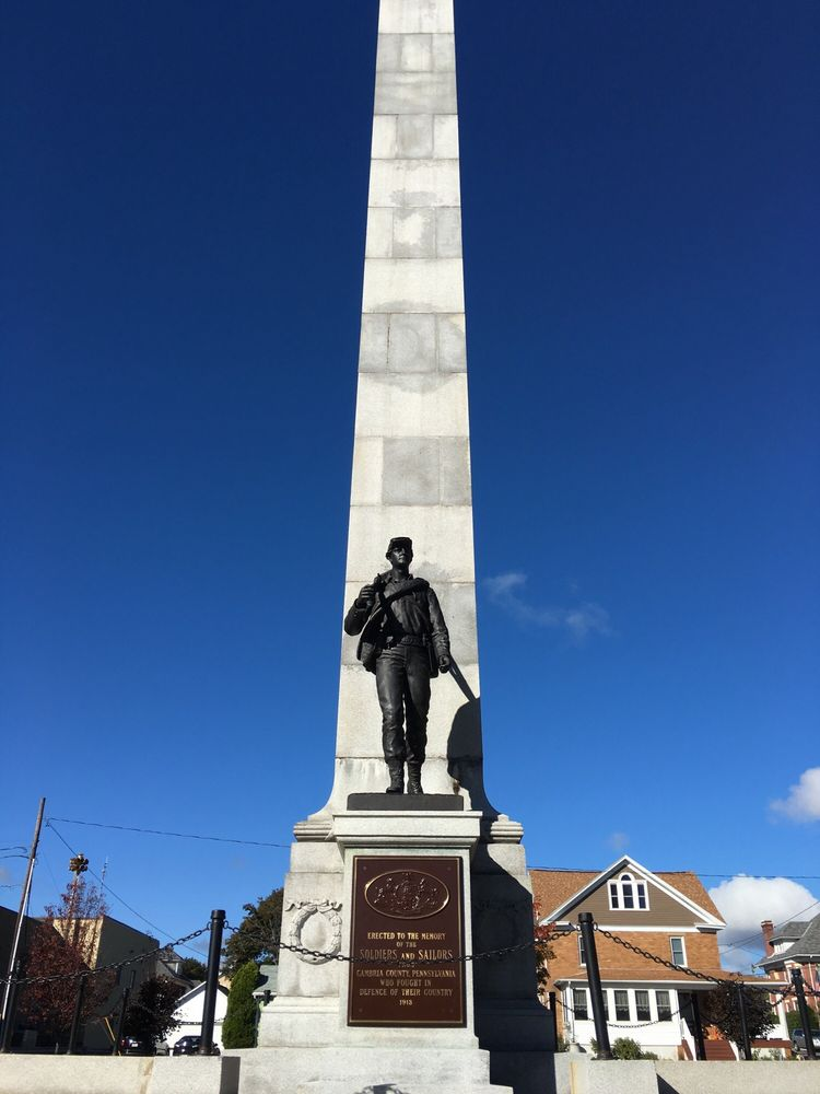 Ebensburg War Memorial: 500 W Ogle St, Ebensburg, PA