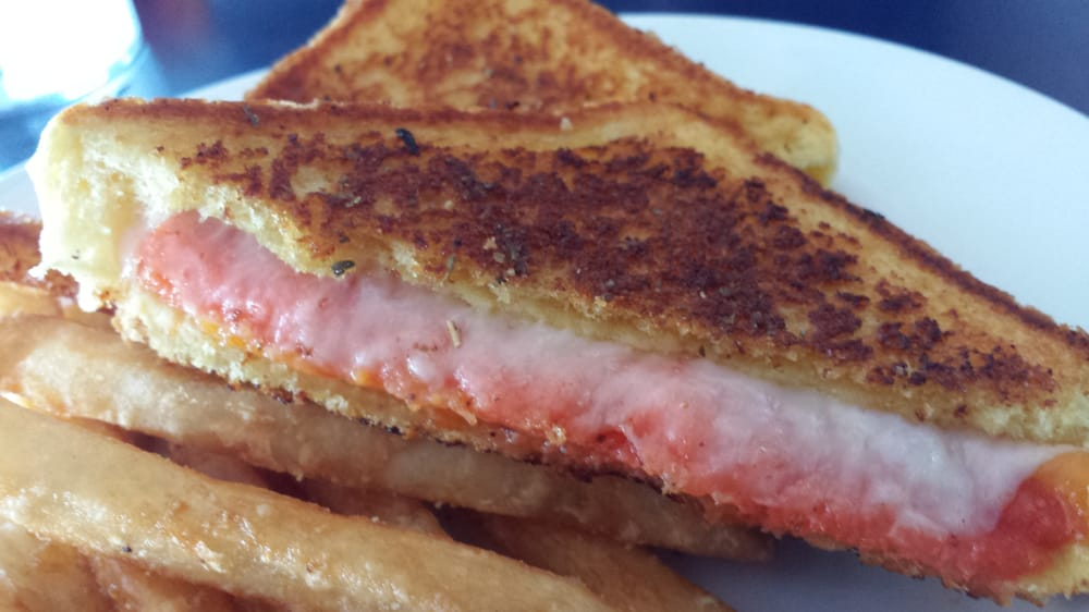 Salmon grilled cheese yelp - Blue water bar and grill ...