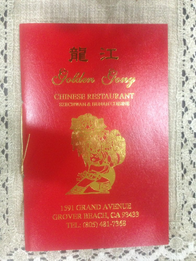 Golden Gong Chinese Restaurant Grover Beach Ca