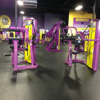 planet fitness bench press machine