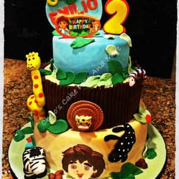 Chelos Cake Pops And More  Photos Desserts Cinco Terrace - Go diego go birthday cake