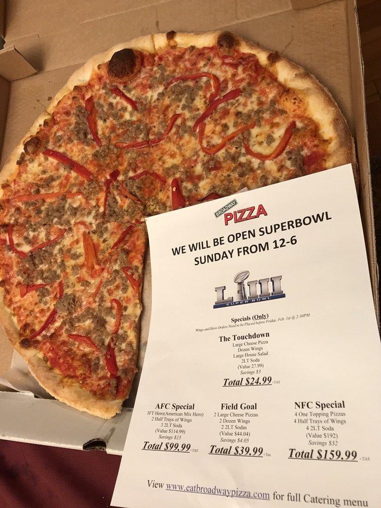 Broadway Pizza: 652 Broadway, Kingston, NY