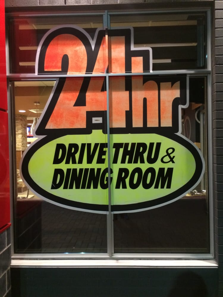 is mcdonald s dining room open 24 hours