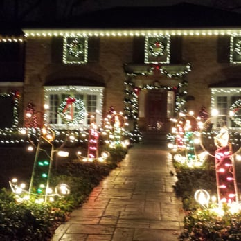 Photo of Lincolnwood Towers Christmas Lights - Highland Park, IL, United  States - Lincolnwood Towers Christmas Lights - Local Flavor - Lincolnwood