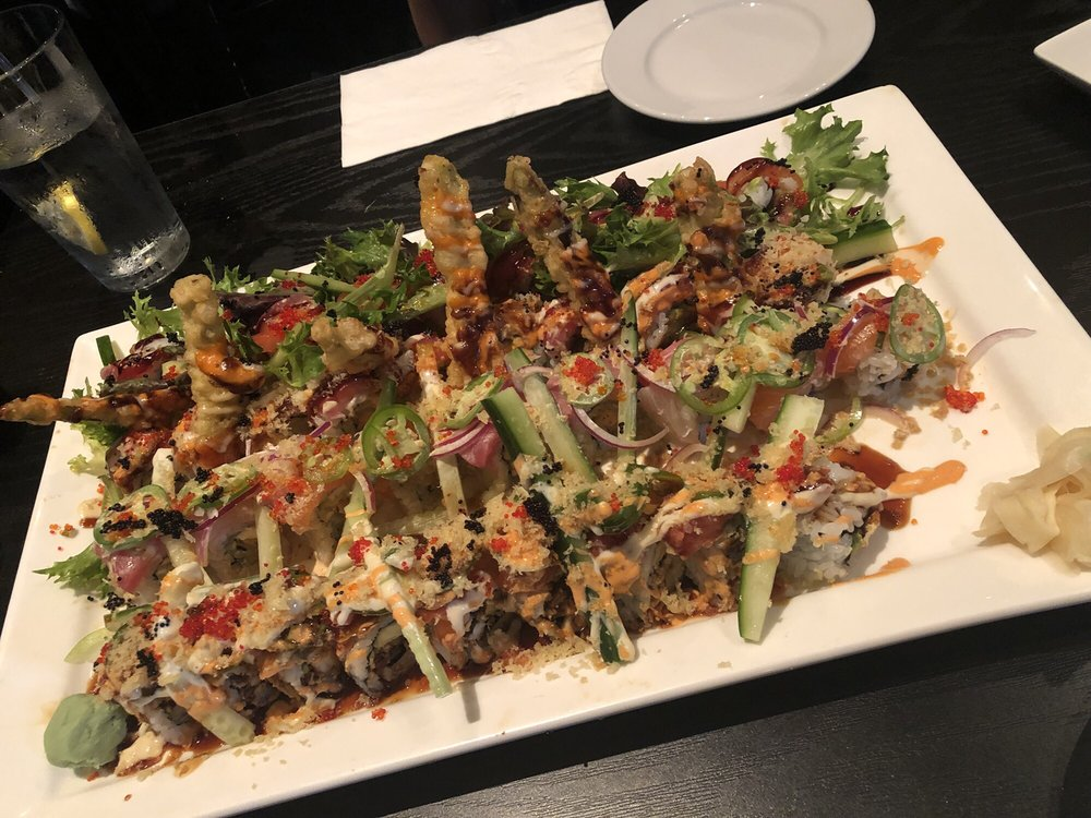 Food from Raw Sushi Bistro