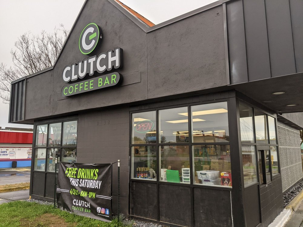 Clutch Coffee Bar: 2432 Lewisville Clemmons Rd, Clemmons, NC