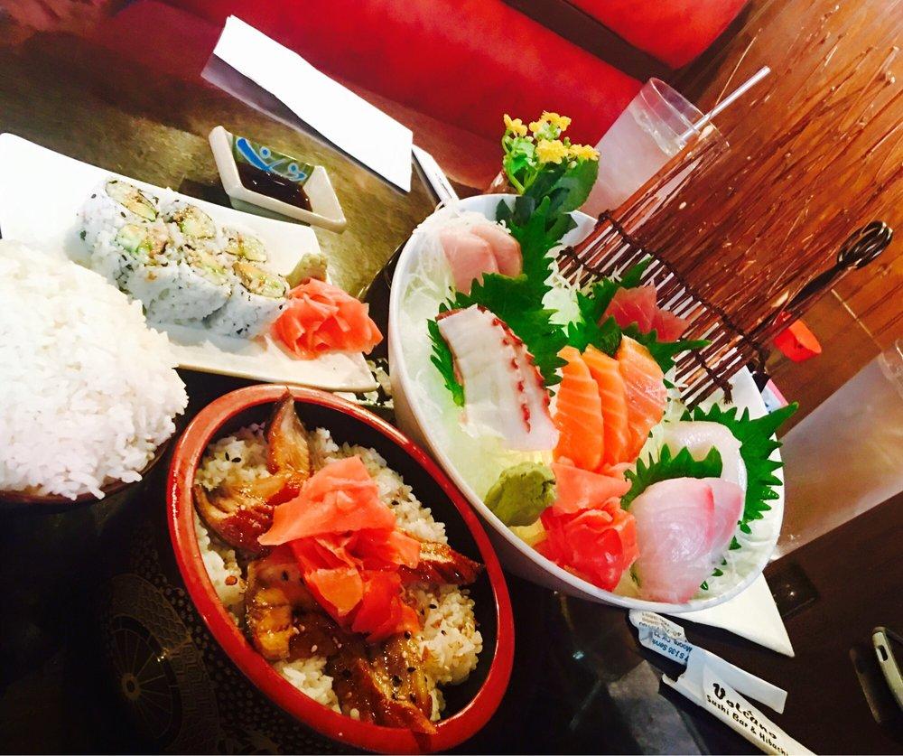 Volcano Sushi Bar & Hibachi: 5301 Main St, Del City, OK