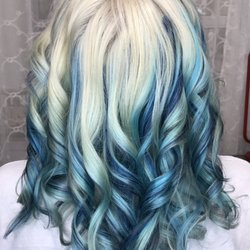 Nola blue 30 photos 29 reviews hair extensions 717 eden photo of nola blue chesapeake va united states platinum blond with blue pmusecretfo Image collections