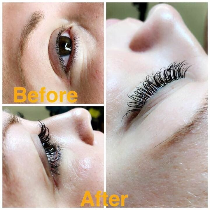 Premium Mink Eyelash Extension Before And After Yelp