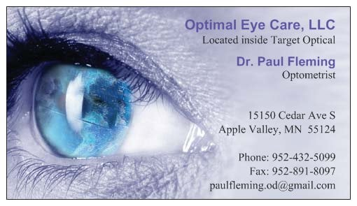 Optimal Eye Care: 15150 Cedar Ave S, Apple Valley, MN