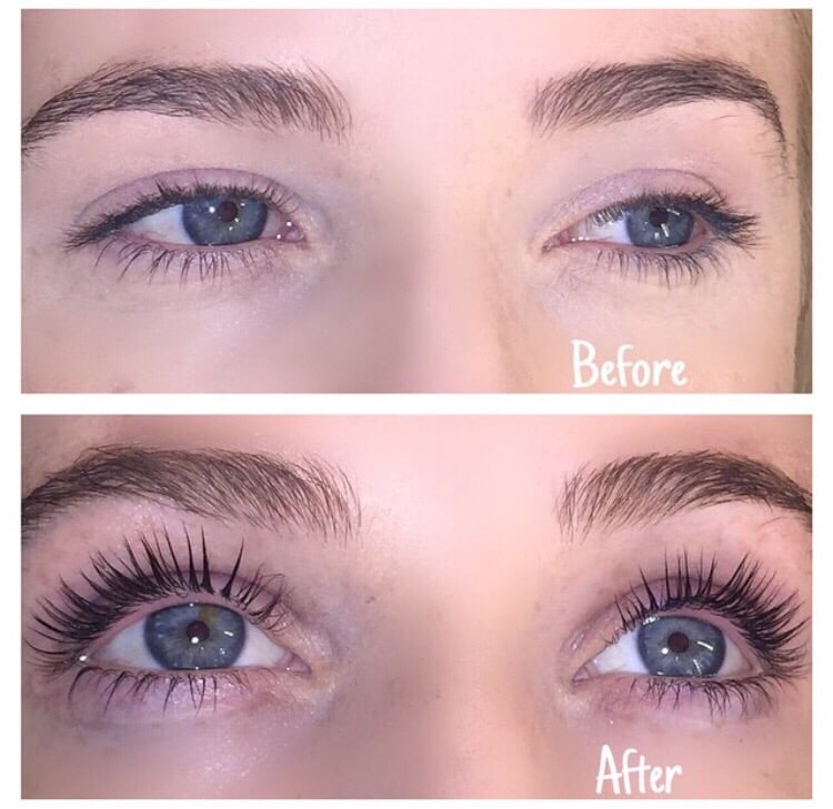 Eyelash Perm Curls The Lashes For 3 Months You Can Swim Shower
