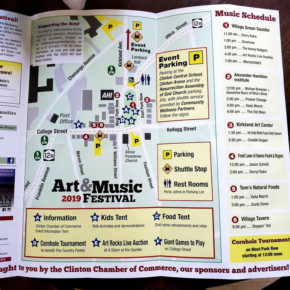 Social Spots from Clinton Art & Music Festival
