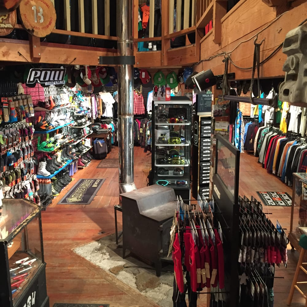 EDGE of the WORLD Snowboard Shop: 394 Shawneehaw Ave, Banner Elk, NC