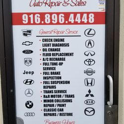 Cost U Less >> Cost U Less Auto Repair Sales Auto Repair 4269 Power Inn Rd