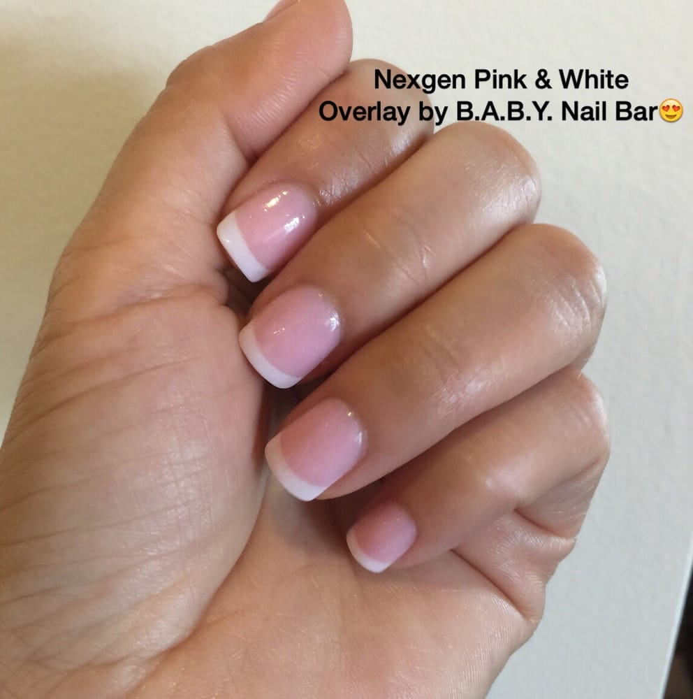 Photo Of B A Y Nail Bar Miami Fl United States Nexgen Pink