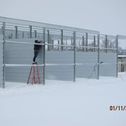 Photo Of Broadway Storage Des Moines Ia United States Erectors Working On