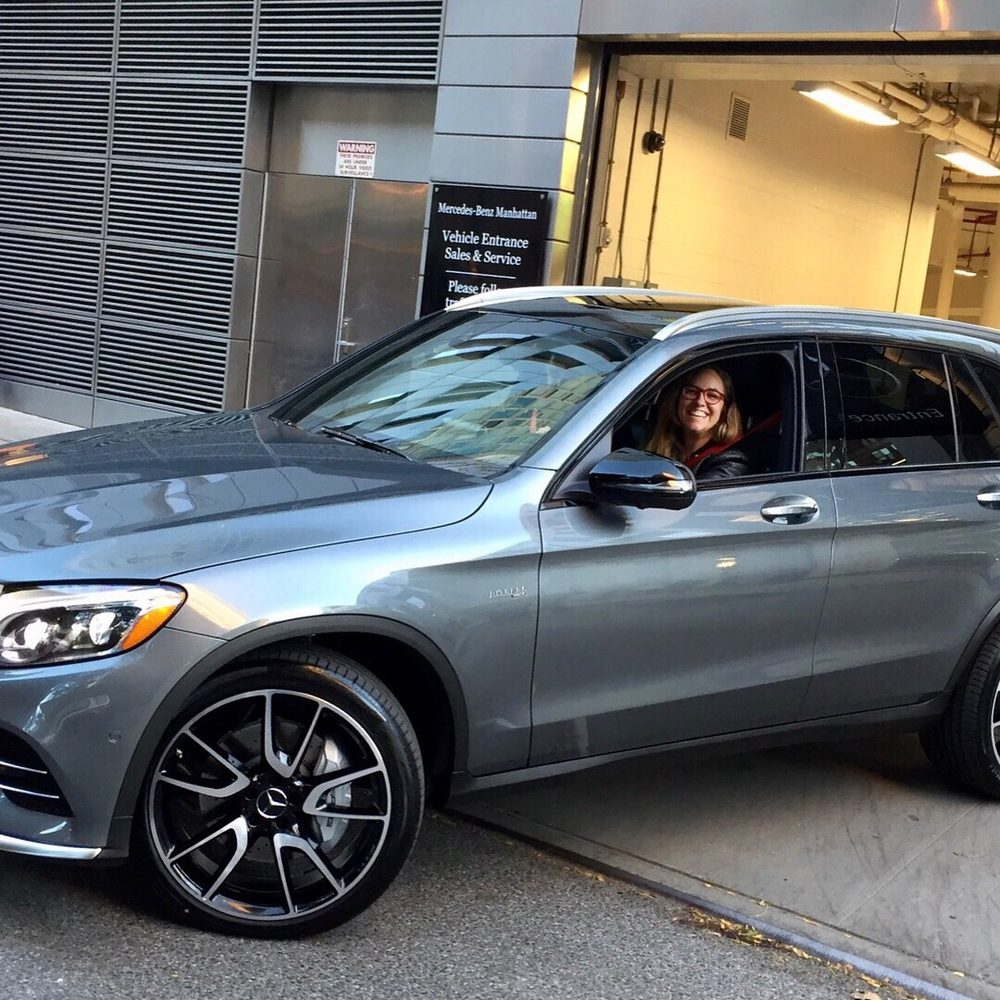 My sweet new ride yelp for Mercedes benz of manhattan new york city