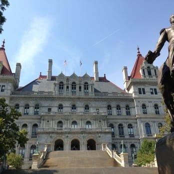 Po Of New York State Capitol Albany Ny United States