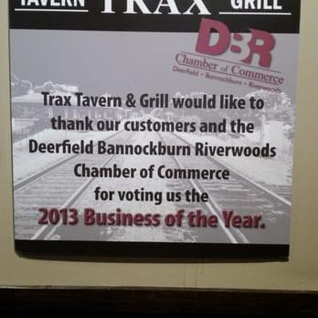 Trax Restaurant Deerfield Il