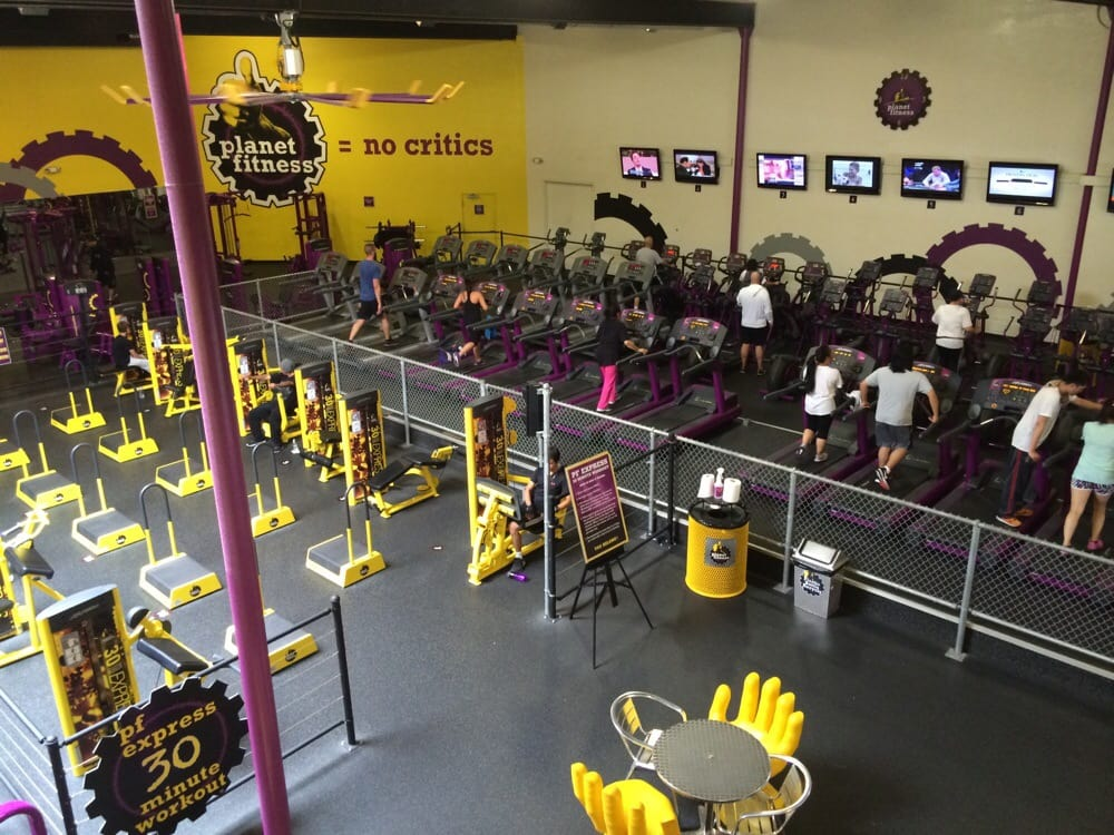 View From Upstairs Yellow Area Is The 30 Minute Circuit And You