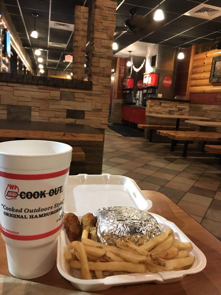 Cook Out: 544 Ponce De Leon Ave NE, Atlanta, GA