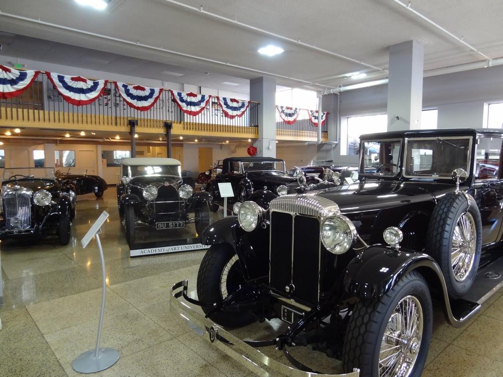 Academy of Art University Automobile Museum